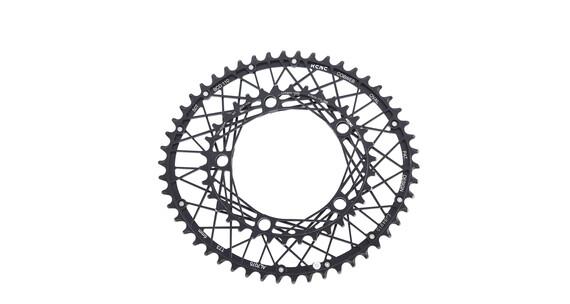 KCNC K6 Cobweb II Zębatka rowerowa oval, 110 BCD czarny